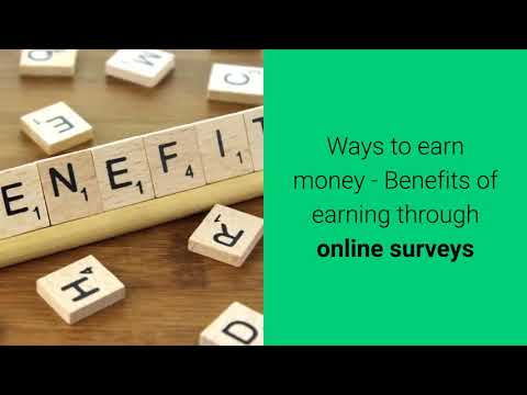 How to Make Money as a Stay at Home Mom | How to Make Money with Online Surveys