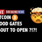 💦FLOOD GATES ABOUT TO OPEN on Bitcoin (BTC)?!- Crypto Market Trading Analysis & Cryptocurrency News