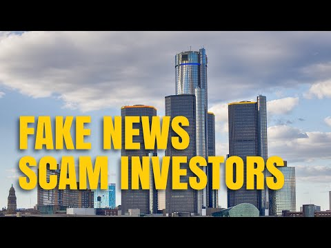 Fake News Scams Investors - 18.01.2019 - Dukascopy Press Review