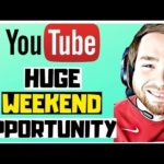 Making Money Online 2019 [HUGE OPPORTUNITY WEEKEND] – Make Money On Youtube 2019 For Beginners