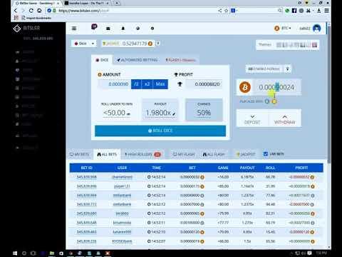 Bitcoin mining 1 bitcoin for 5 min Bitsler Bot and Script Hack Bitcoin 2019