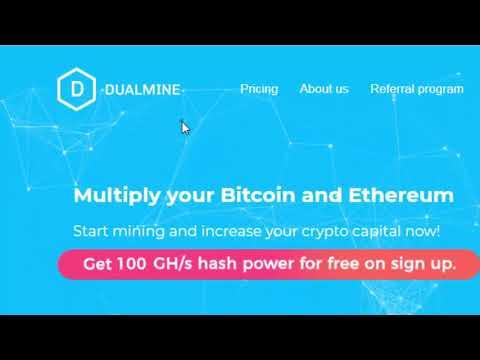 Dualmine.com new free BITCOIN CLOUD MINING