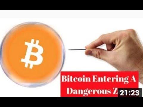 Bitcoin Entering A Dangerous Zone