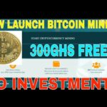AUTOMATIC BITCOIN MINING 300GHS FREE(NO INVESTMENTS)