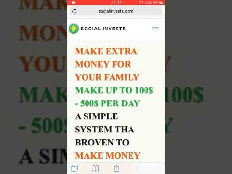Make Money Online easily with socialinvests