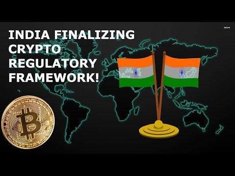 BITCOIN NEWS INDIA FINALIZING CRYPTO REGULATORY FRAMEWORK!