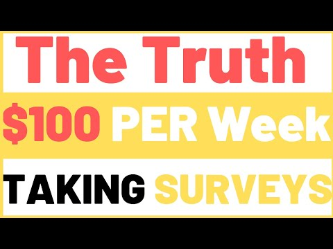 Earn Per Week -Best Survey Sites That actually Pay Make Money Online