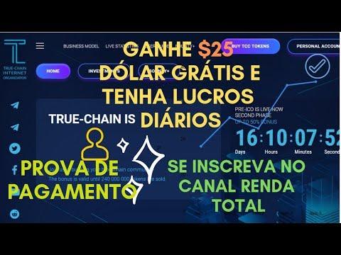 TRUE CHAIN SCAM ? PROVA DE PAGAMENTO !PLATAFORMA DE INVESTIMENTO EM BITCOIN E CRIPTOMOEDAS!