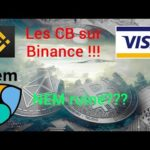 Épisode 35 Bitcoin & Cryptos News: Les cartes bancaires sur Binance! La fondation NEM ruinée?