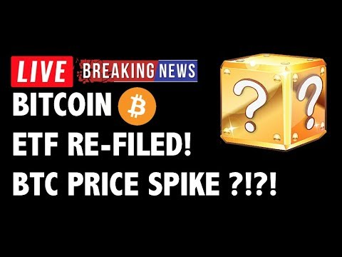 Bitcoin ETF Filed AGAIN! BTC Price to SPIKE?! - Crypto Market Trading Analysis & Cryptocurrency News