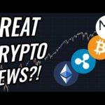 GREAT News For Bitcoin & Crypto Markets?! Stocks Continue To Rebound! BTC, ETH, XRP & Crypto News!