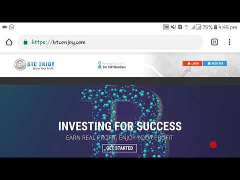 Btcenjoy.com Review: is btcenjoy SCAM or legit? Earn Nothing From It - hyip SCAM exposed