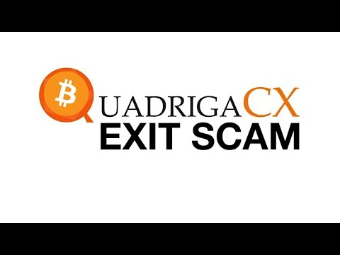 QuadrigaCX 26,500 Bitcoin Exit Scam | $190,000,000 Million