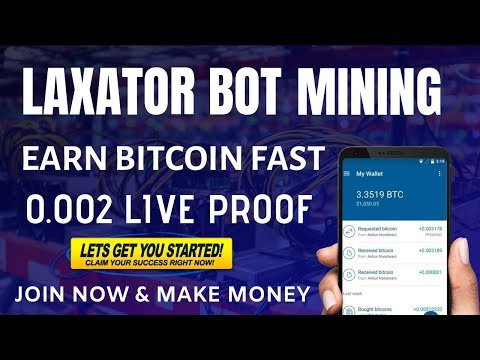 Laxator Telegram Bot Review Top & High Bitcoin Mining Bot Earn Free Bitcoin With Telegram Bot 2019