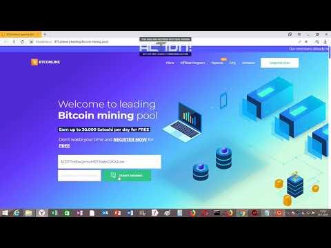 Bitcoin mining free new