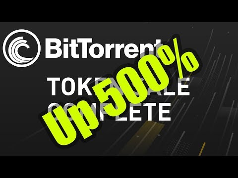 BTT UP 500% Since ICO - Will It Continue? [Bitcoin and Cryptocurrency News]