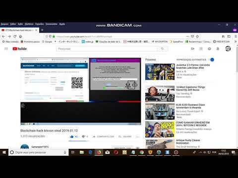 Blockchain hack bitcoin steal 2019 01 12 SCAM