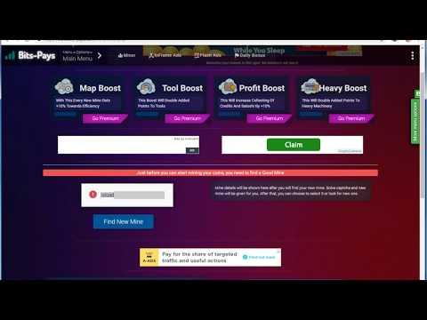 New Free Bitcoin Cloud MINING Daily 10$ free SITE 2019 New Cryptocurrency Cloud Mining