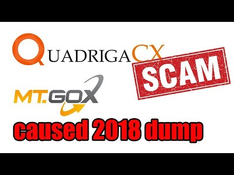 LIVE:  QuadrigaCX $190 Million SCAM - Mt. Gox Caused 2018 DUMP [Bitcoin and Cryptocurrency News]