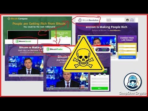 Bitcoin Revolution, Bitcoin Compass, Code, Trader.. All Scams!