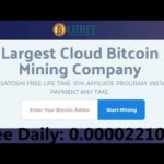 Uibit – New Bitcoin Cloud Mining || FREE 2210 SATOSHI DAILY – Earn Upto Daily: 0.10000000 Ƀ