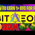 Bitaeon.io Is A Scam, Earn 1+ BTC A Day For FREE In 2019 SCAM🚨