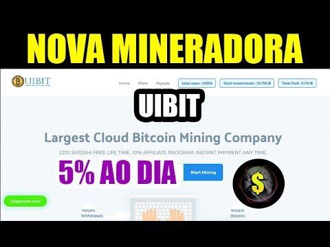 Uibit Bitcoin - Cloud Mining - 2210 SATOSHI FREE LIFE TIME.