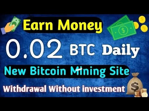 New Free Bitcoin MINING Site 2019 | Earn Daily 50$ to 100$ Live Payment Proof