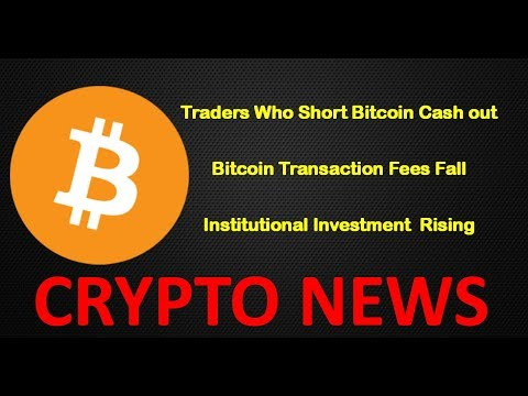 Crypto News:  OTC Rising, Short Bitcoin Positions cashed out and Bitcoin Transaction Fees Fall