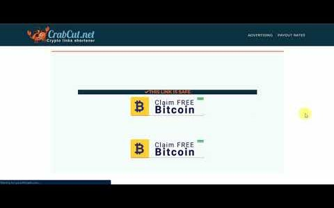 NEW BITCOIN EARNINGS (NO INVESTMENTS)CLEAR URLSHORTNER EARN CRYPTOCURRENCY INSTANT PAYOUT FACUETHUB