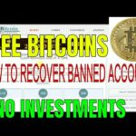 HOW TO RECOVER FREE BITCOIN CRYPTOCURRENCY BANNED ACCOUNT ,EARN FREE BITCOIN TRUSTED&HIGHPAYING