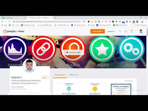 PeoplePerHour Bangla Tutorial 2019 (Part -1) | How To Make Money Online