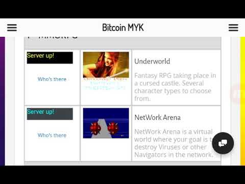 Bitcoin Myk - New! Game Simulated Cloud Mining