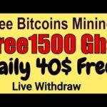 Free Mining bitcoin | Get Free 1500 Ghs Free legit  mining | Live Withdraw Start earn money | 2019