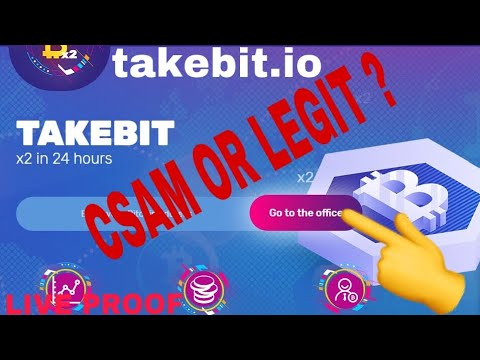 takebit.io Scam or not double your btc in 24 hour 2019 takebit.io