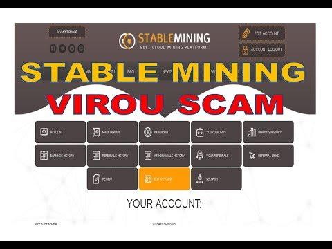 Stable Mining SCAM - Parou de Pagar