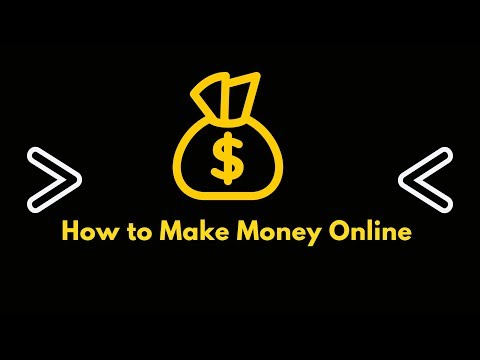 How to make money online? Work from anywhere