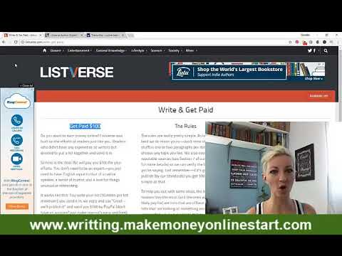 Can You Get Paid To Write Articles Online - Ways to Make Money Online