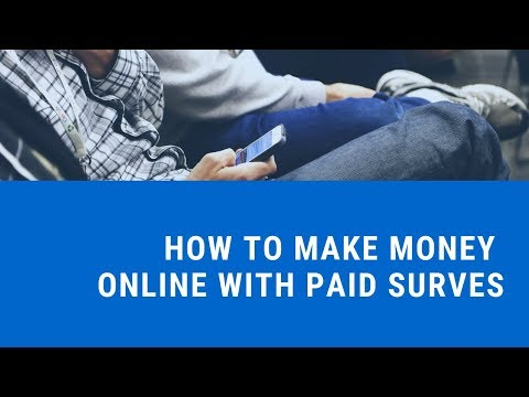 How to Make Money Online with Paid Surveys