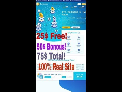 BtcBusiness.Ltd || Bitcoin Mining Website || 100% Real Website || New Bitcoin Mining Website..