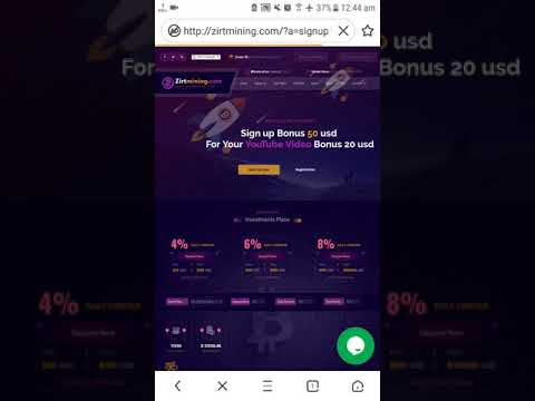 Zirtmining $50 USD Signup Bonus Proof Best Mining Site, 100% Real Bitcoin Mining Site 2019