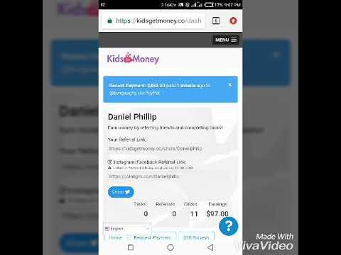 KidsGetMoney.co | KidsGetMoney.co/share/Danielphilip | Make money online with Kids Get Money