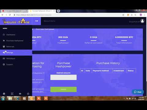 New Free BITCOIN Cloud Mining Site 2019 | New Free Bitcoin Earning Site