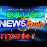 BITCOIN NEWS !🚀BULLISH BULLISH BULLISH!🚀