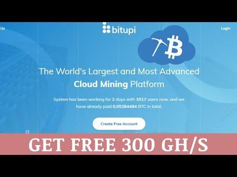 Bitupi.com отзывы 2019, mmgp, обзор, Bitcoin Cloud Mining, get Free 300 Gh/s
