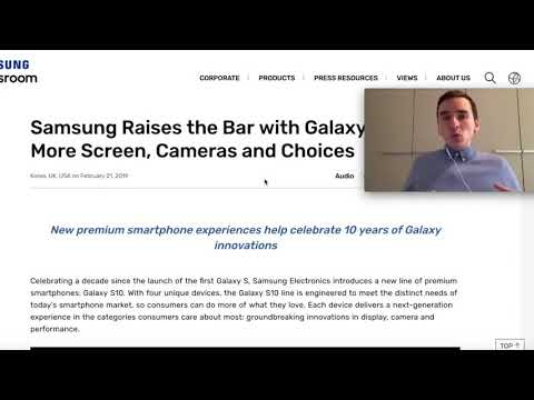 Bitcoin News Today: Samsung Galaxy S10 With Integrated CRYPTO Wallet!!