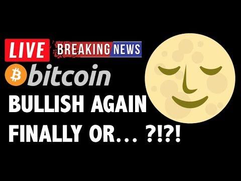 Bitcoin BULLISH AGAIN?! - LIVE Crypto Market Trading Analysis & BTC Cryptocurrency Price News 2019