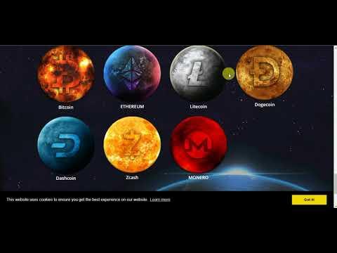 AUTOMATIC BITCOIN,LITECOIN,DASHCOIN,ETHERIUM,MONERO,ZECOIN MINING 100GHS FREE (NO INVESTMENT)