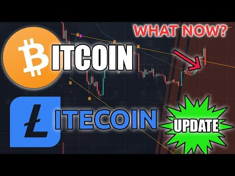 BITCOIN & LITECOIN DOWN | What Next?