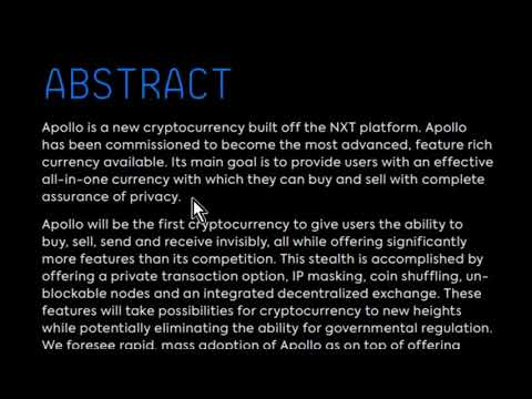 Is Apollo Currency APL a SCAM